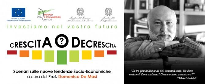 Talk Prof. Domenico De Masi