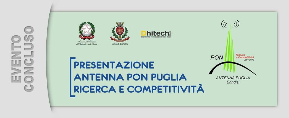 Presentazione Antenna Pon Puglia (08/05/2014)